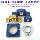 FYK504 - SKF Y-Flanschlagergehäuse aus Polyamid